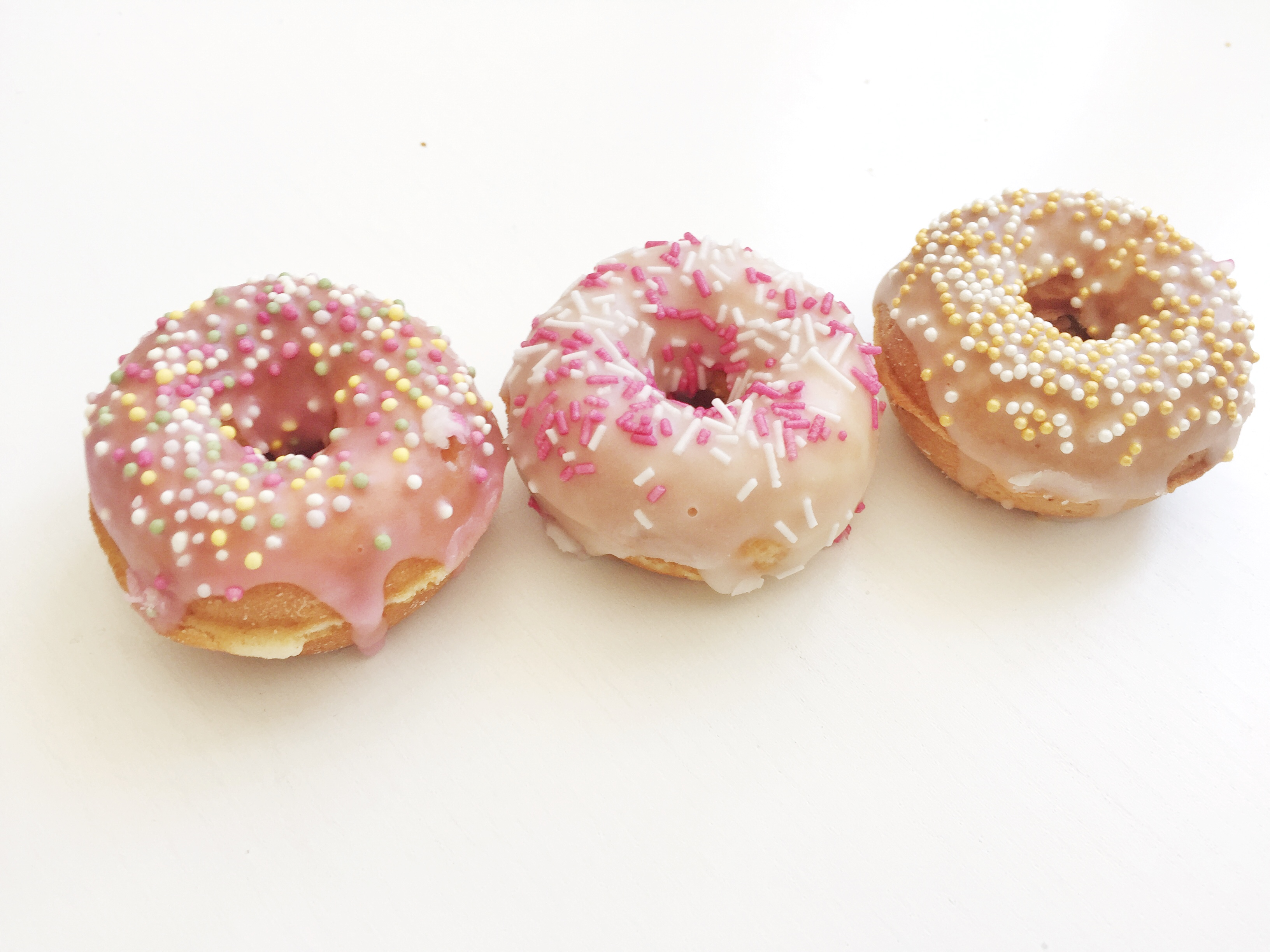 hur gör man donuts