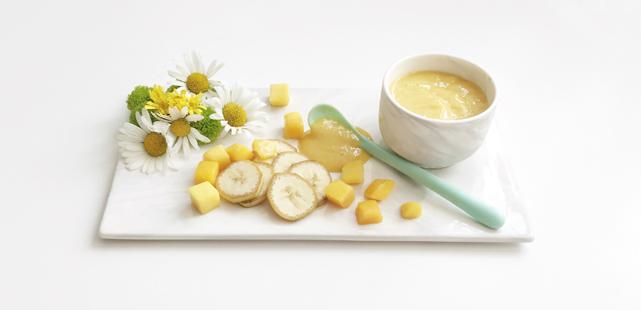 banan och mangopuré